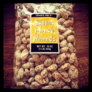 Sesame Honey Almonds
