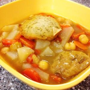 Drunken Dumpling Soup