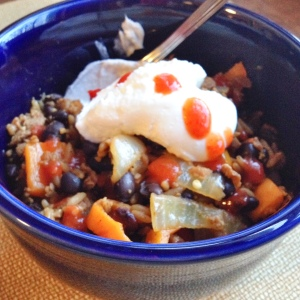 Cajun Dirty Rice with Yogurt