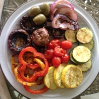 Grilled Vegetable Dinner