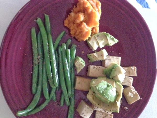 Tofu, Green Beans