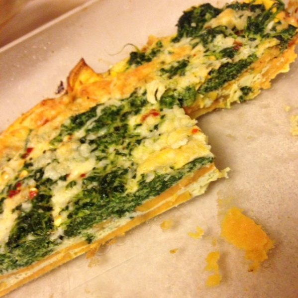 spinach-quiche